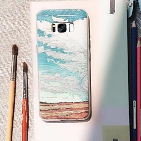 voordelige Galaxy S7 Hoesjes / covers-hoesje Voor Samsung Galaxy S9 Plus / S8 Plus / S7 edge Waterbestendig / Stofbestendig / Patroon Achterkant Landschap TPU