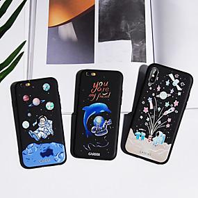 voordelige Galaxy S7 Edge Hoesjes / covers-hoesje Voor Samsung Galaxy S8 Plus / S8 / S7 edge Waterbestendig / Stofbestendig / Patroon Achterkant Hemel TPU