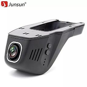 Недорогие Видеорегистраторы для авто-Junsun S100 DVR регистратор видеорегистратор камера FHD 1080 P видеокамера видеокамера ночная версия 96655 IMX322 Wi-Fi камера