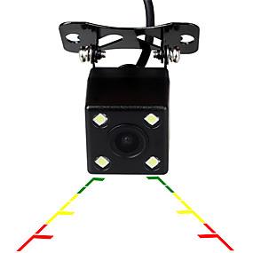 voordelige Auto-elektronica-ziqiao universele 4 led auto nachtzicht reverse monitoring automatisch parkeren waterdicht 170 graden hd video backup camera