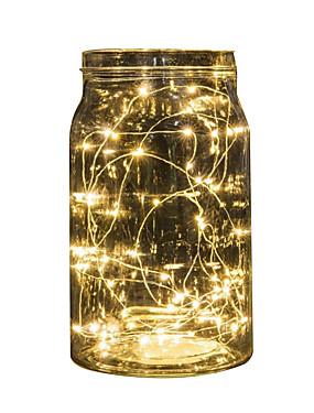 billige Hjem & Køkken-2m strenglampe 20 leds multifarvet ledede eventyrlampe til bryllupsfest begivenhed juledekoration batteridrevet
