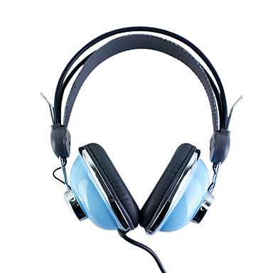 kanen km-740 stilfulde hovedtelefoner (blå)