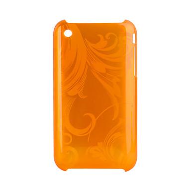 ochranný zadní kryt pro iPhone (oranžová)
