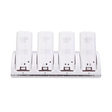 четырехъядерный USB зарядной станции / ПОВ / док-станция с аккумуляторами для Wii / Wii и удаленной