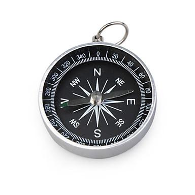 Портативный металлический компас-брелок(большой размер)
