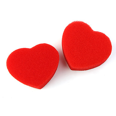 Magic Assemble Sponge Heart Red (Heart Showing and Disappearing)