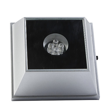 Trapezoidal Shaped Mirror with 4-LED Colorful Light