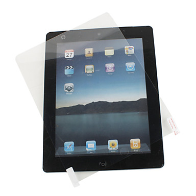 High-quality Screen Protector with a piece of Cleaning Cloth for iPad 2 and The new iPad