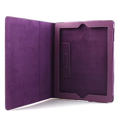 Etui PU avec support pour iPad 2 (violet)