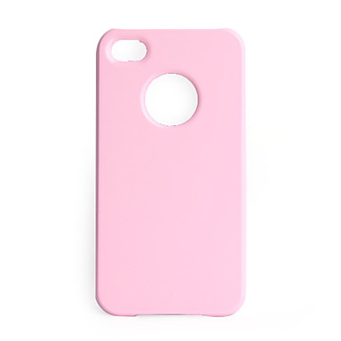 Piano Baking Protective Case iPhone 4 (Pink)