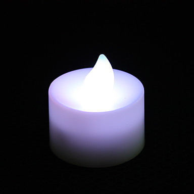 Mini Candle Shaped Colorful LED Night Light