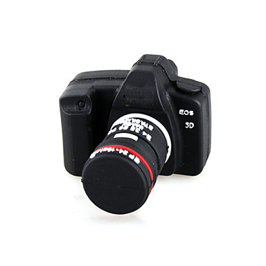 16 GB-os kamera stílus USB flash drive (fekete)