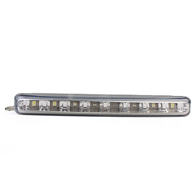 8 LED Daytime Running Lights (White)