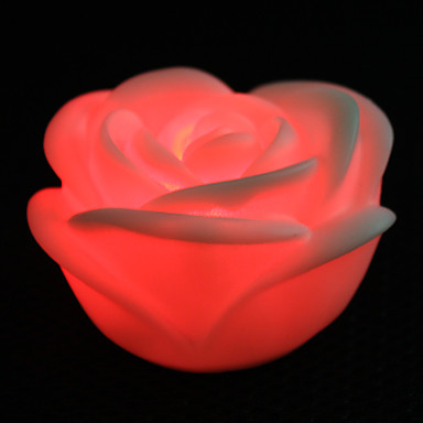 Charming Rose Shaped 7 Colors Changing LED Night Light