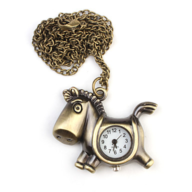 Erkek Cep kol saati Quartz Bant Altın
