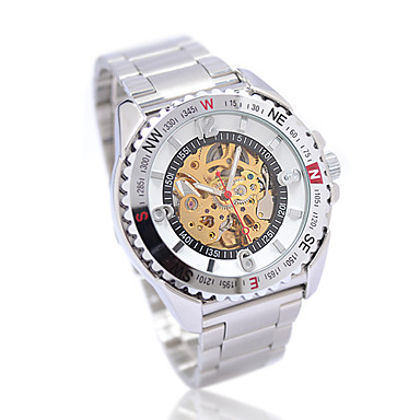 Men's and Boy's Automatic Sport Mechanical Wrist Watch  Cool Watch Unique Watch