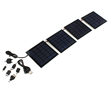 Foldable Solar Charger for Cellphones Power Banks Cell Phone Universal Accessories