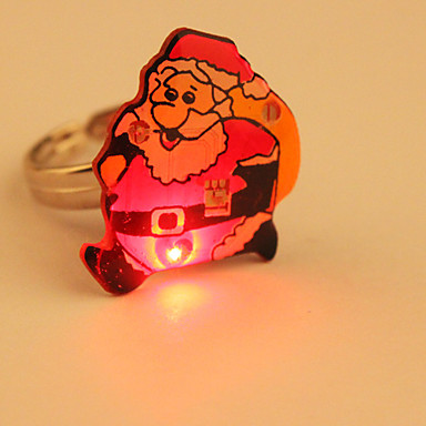 de dibujos animados dirigido intermitente anillo (Santa Claus)