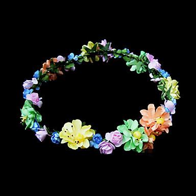 Kristal Kumaş Kağıt - Tiaras Çiçekler 1 Düğün Özel Anlar Parti / Gece Başlık