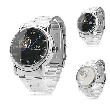 Herren-Legierung analoge mechanische Armbanduhr (Lunte)