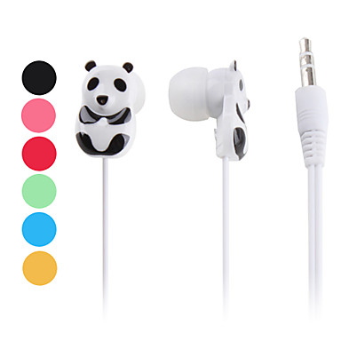 Panda Bear Style In-Ear Earphones for iPhone 6 iPhone 6 Plus iPhone 5s/5 (Assorted Colors)