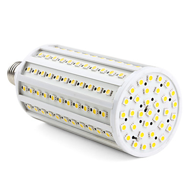 3000lm E26 / E27 LED Mısır Işıklar T 165 LED Boncuklar SMD 5050 Sıcak Beyaz 220-240V