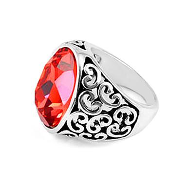 anillo lureme®crystal con patrón de bloqueo