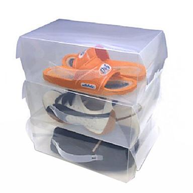 modieuze transparante schoenendoos