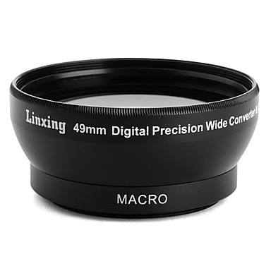 Professional 49mm 0.45x WIDE Angle and Macro Conversion Lens