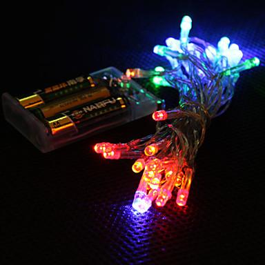 Dizili Işıklar 30 LED'ler RGB Renk Değiştiren