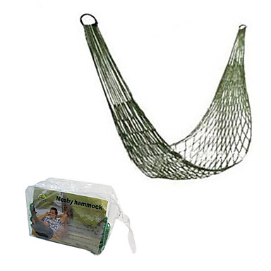 1 person Hammock Camping Tent Ultra Light(UL) Foldable Portable-Hiking Camping Beach Fishing Traveling-Yellow Green