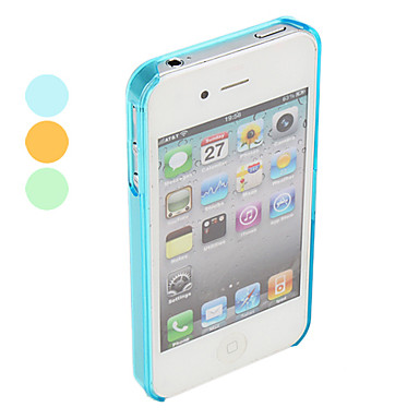 Ultra Slim Protective Polycarbonate Bumper for iPhone 4 and 4S (Assorted Colors)