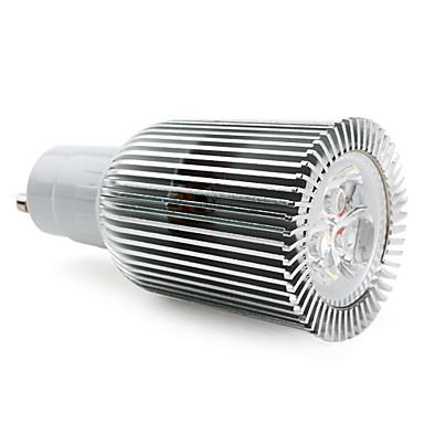 GU10 9W 600lm 2800-3500K теплый белый свет Светодиодные лампы месте (85-265В)