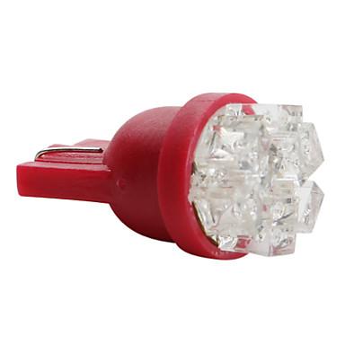 T5 Araba Beyaz 0.5W Dip LED Gösterge Işıkları
