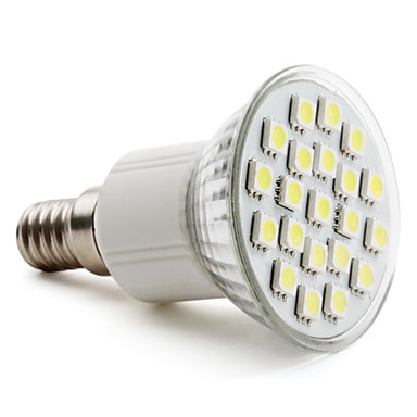 E14 4W 21 SMD 5050 220 LM Natural White MR16 LED Spotlight AC 220-240 V