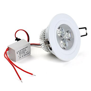 280 Lampes Encastrées Plafonniers Encastrée Moderne 3 LED LED Haute Puissance Blanc Naturel 5500KK AC 85-265V