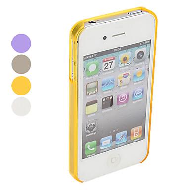 Anti-urto ultrasottile in policarbonato per iPhone 4 e 4S - Colori assortiti