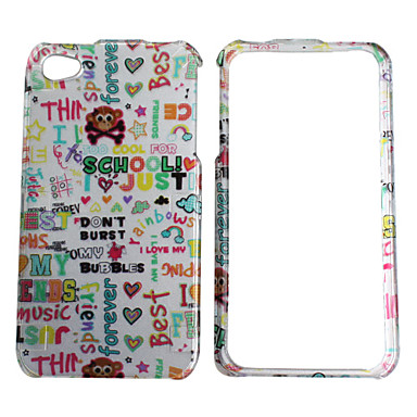 Fashion Protective Case for iPhone 4 and 4S (White)