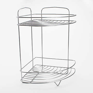 Multi-Functional Metal Shelf