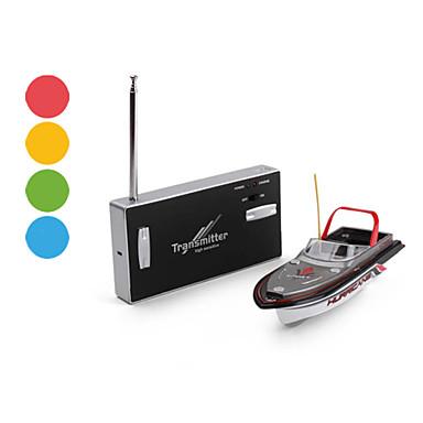 Mini IR Boat mit 4-Kanal-Fernsteuerung (verschiedene Farben)
