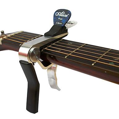 Alice a007dsl-A1 fortschrittliche akustische Gitarre capo mit Spitzhacken-Clip