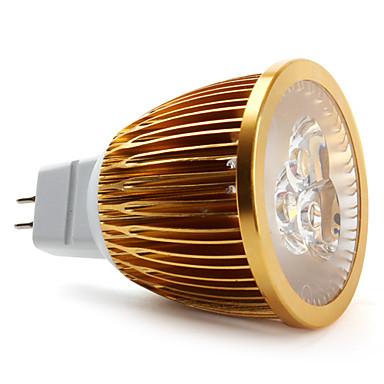 GU5.3 W 3 High Power LED 450 LM Natural White MR16 Spot Lights DC 12 V