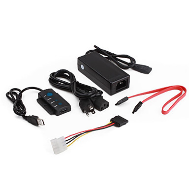USB 2.0 to SATA IDE Cable Adapter for 2.5
