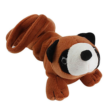 Raccoon Shaped Style Soft Pet Squeaking Toy for Dogs (21 x 9cm)