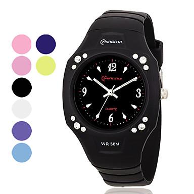 Unisex Multi-Functional PU Analog Quartz Casual Watch (Assorted Color)