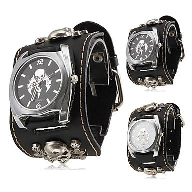 Women's Quartz Wrist Watch Hot Sale Band Skull Fashion Black
