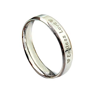 Кольцо с надписью Endless Love