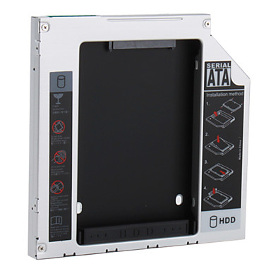 SATA to SATA 2ND HDD Hard Drive Caddy for 12.7mm Universal CD/DVD-ROM