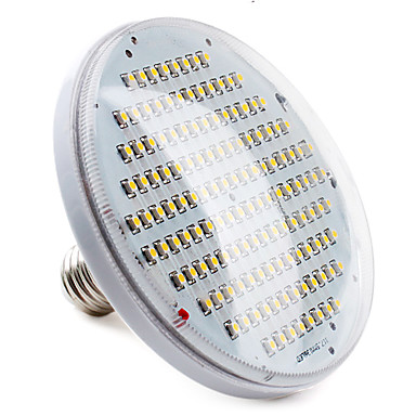6W E26/E27 LED-spotlights PAR38 136 SMD 3528 400 lm Varmvit Dekorativ AC 220-240 V