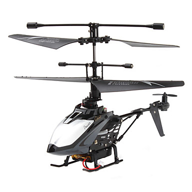 4-Channel 2.4Ghz Mini Remote Control Helicopter (Black)